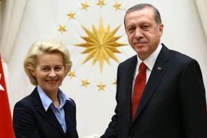 Επικοινωνία Λάιεν – Ερντογάν: Τι συζήτησαν 48 ώρες πριν τη Σύνοδο Κορυφής