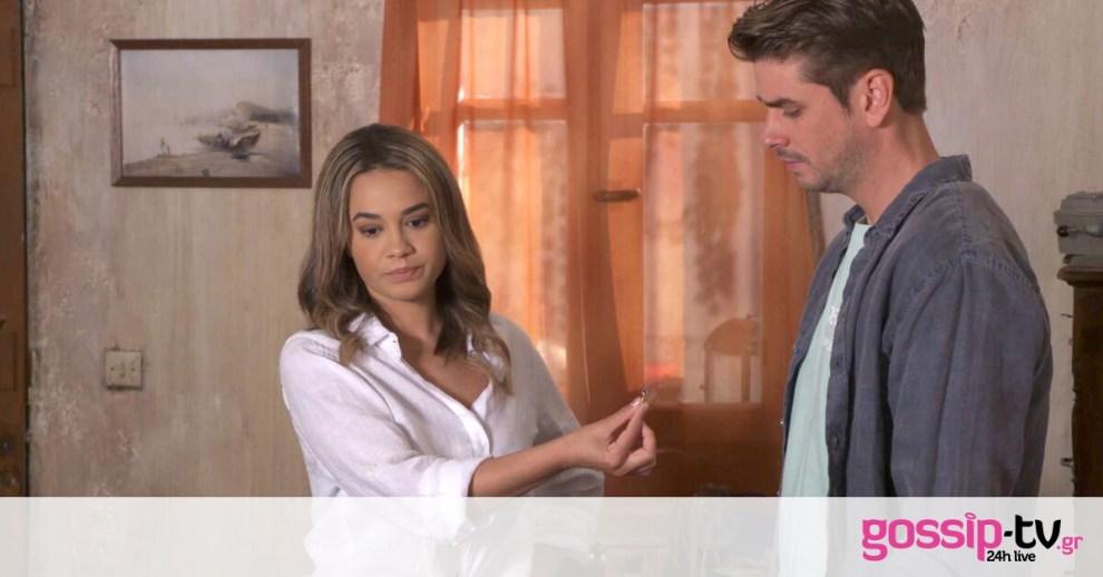 Χαιρέτα μου τον πλάτανο: Η Κατερίνα δίνει πίσω στον Παναγή το δαχτυλίδι των αρραβώνων