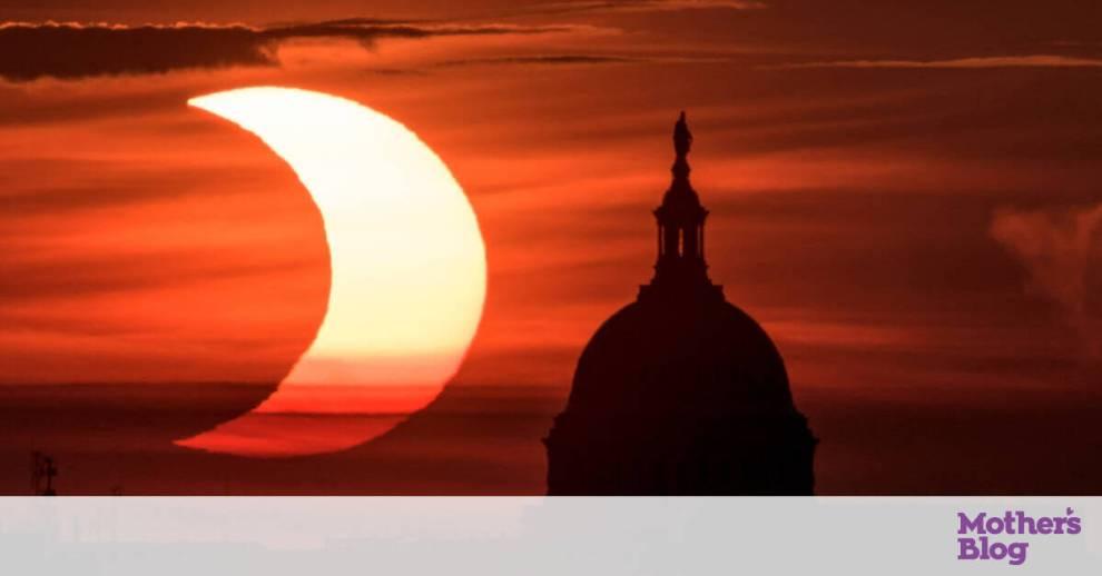 To «δαχτυλίδι της φωτιάς»: Εικόνες από την πρώτη ηλιακή έκλειψη του 2021