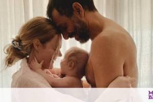 Αβασκαντήρα - Χρανιώτης: H καλοκαιρινή φώτο με τον γιο τους στην Τήνο