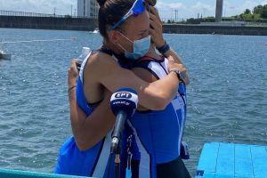 Μπούρμπου - Κυρίδου: Η συγκίνηση και τα δάκρυα μετά τον τελικό στη δίκωπο άνευ των Ολυμπιακών Αγώνων