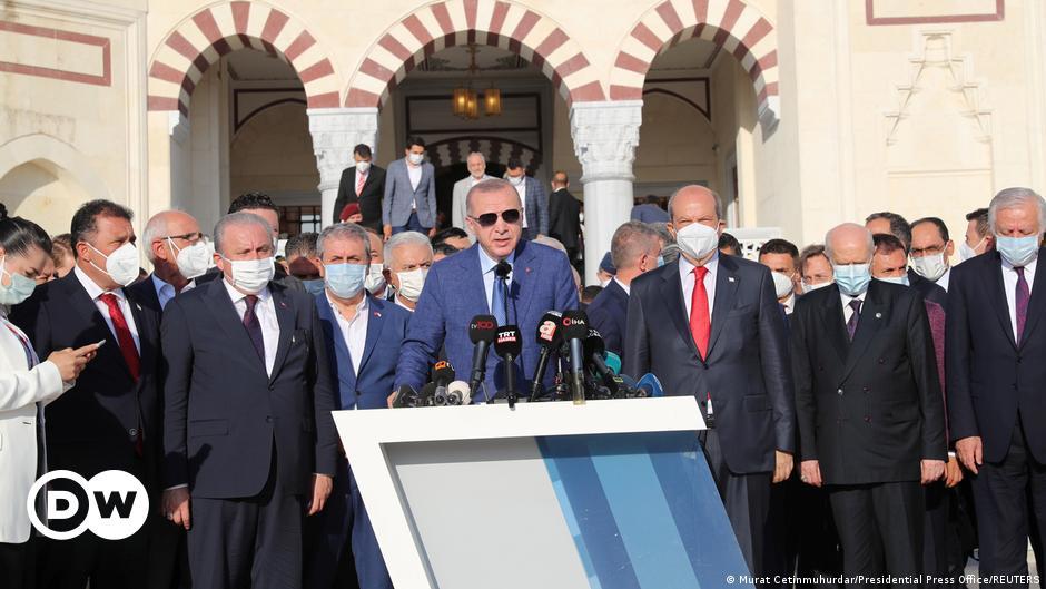 Τουρκία: Προσπάθειες για έμμεση αναγνώριση της «ΤΔΒΚ» | DW | 21.07.2021