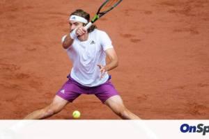 Τσιτσιπάς: Ίδρωσε, αλλά προκρίθηκε στα προημιτελικά του Open στο Αμβούργο