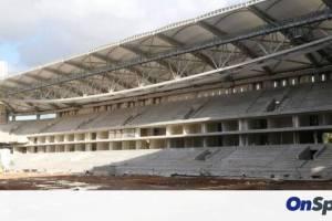 ΑΕΚ: Τα πρώτα καθίσματα στο νέο γήπεδο (photos)