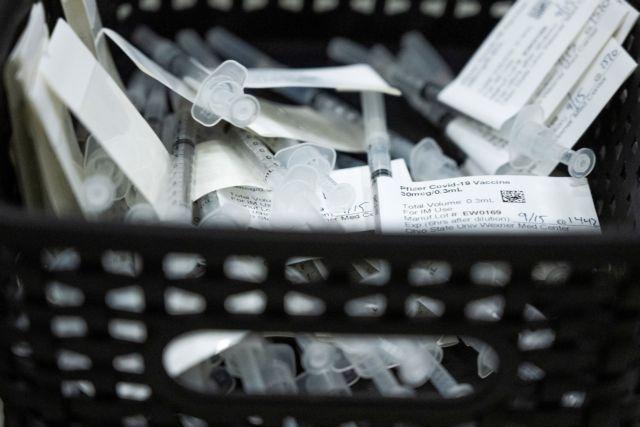 ΗΠΑ – Θα δωρίσουν εκατομμύρια δόσεις εμβολίων της Pfizer