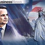 Οικονομικό και γεωπολιτικό αποτύπωμα στις επαφές του Κυριάκου Μητσοτάκη στη Νέα Υόρκη