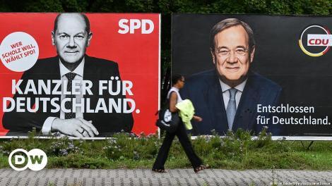 Στα όρια του στατιστικού λάθους η διαφορά SPD-CDU   DW   25.09.2021