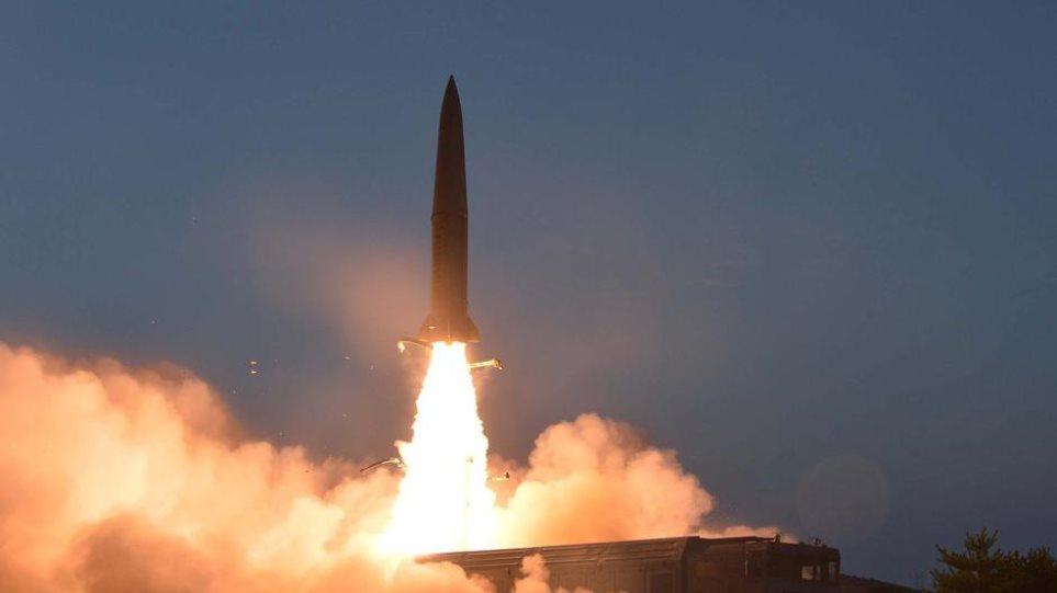 Συνεχίζει το μπαράζ εκτοξεύσεων η Β.Κορέα   Ειδήσεις - νέα - Το Βήμα Online