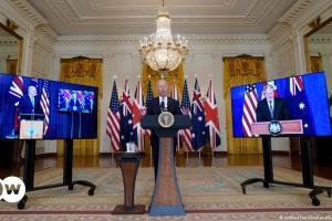 Σύμφωνο ασφαλείας ανάμεσα σε Αυστραλία-ΗΠΑ-Βρετανία | DW | 16.09.2021