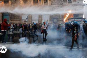 Αποφασισμένη κατά των νεοφασιστών η Ρώμη | DW | 11.10.2021