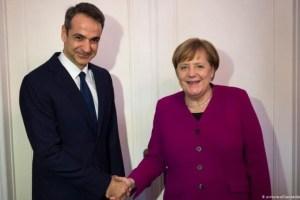 Η Μέρκελ έρχεται στην Ελλάδα – Αποδέχθηκε πρόσκληση του Κυριάκου Μητσοτάκη