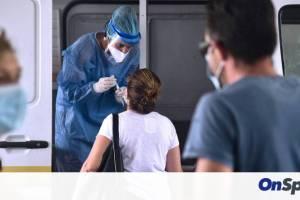Κορονοϊός: 2.313 νέα κρούσματα ανακοίνωσε ο ΕΟΔΥ, 30 θάνατοι και 361 διασωληνωμένοι