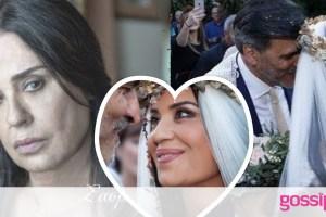 Μαρία Τζομπανάκη: Πέντε χρόνια πριν, η Καλλιόπη του Σασμού, στον δικό της Κρητικό γάμο! (photos)