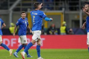 Μείωσε ο Πελεγκρίνι από κοντά σε 1-2 στο Ιταλία - Ισπανία, έπειτα από την πάσα του Κιέζα
