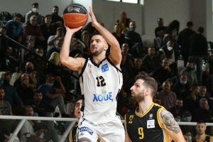 Με εντυπωσιακό Δίπλαρο ο Απόλλωνας Πάτρας κέρδισε με 84-68 την ΑΕΚ