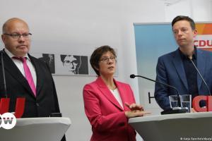 Παραιτούνται Αλτμάιερ/Καρενμπάουερ από βουλευτές | DW | 09.10.2021