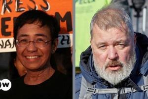 Το Νόμπελ Ειρήνης σε δύο δημοσιογράφους | DW | 08.10.2021