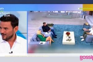 Τσουρός κατά Παπαθωμά: «Πού είδε το ανήθικο παιχνίδι του Λιάγκα;»-Όσα είπε on air στο Mega Καλημέρα