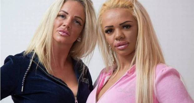 Жертви на красотата: Майка и дъщеря