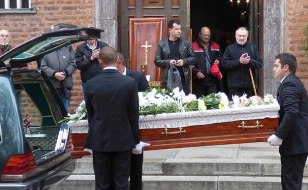 Васил Михайлов погреба сина си