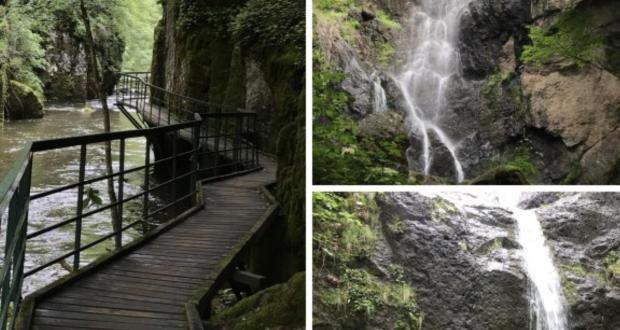Дървени мостчета водопади и уникална природа на час и половина от Пловдив СНИМКИ