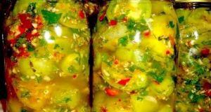 Мариновани зелени домати. Толкова са вкусни и лесни за приготвяне