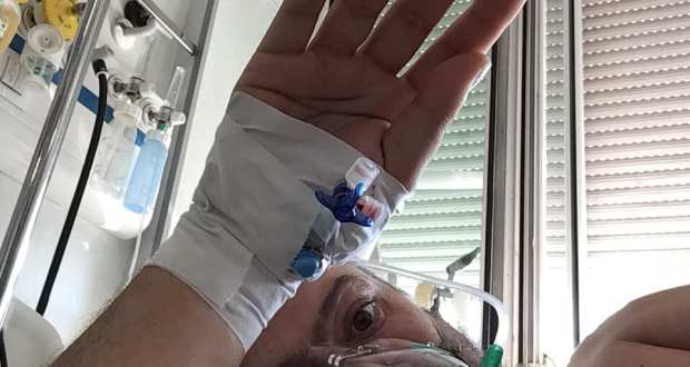 """В """"Ръцете на Ковид"""" – 12 дни 9 от които по корем в борба за глътка въздух…"""