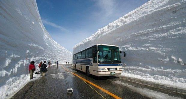 Кога ще ги стигнем? Вижте как се чисти 15 метрова снежна покривка по японски (Видео)