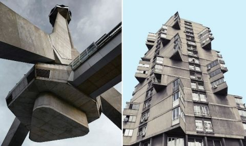 Топ 5 на сградите стил брутализъм социалистически модернизъм и соцреализъм / СНИМКИ