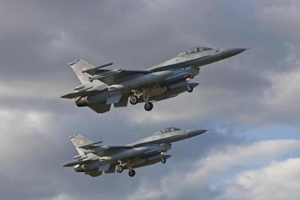 Regeringen vil igen sende F16 fly til bekæmpelse af IS. Arkivfoto: Værnsfælles Forsvarskommando