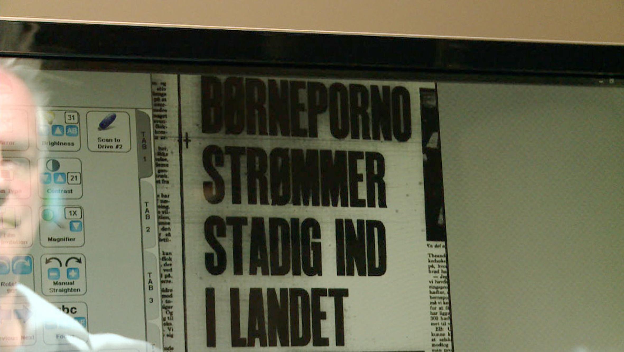 I 70'erne var Danmark ikke bare en af verdens førende pornoproducenter - men også det land i verden, der distribuerede mest børneporno. Helt lovligt. Journalisten og tv-producenten Thomas Heurlin undersøger sagen nærmere. Foto: Koncern TV Impact