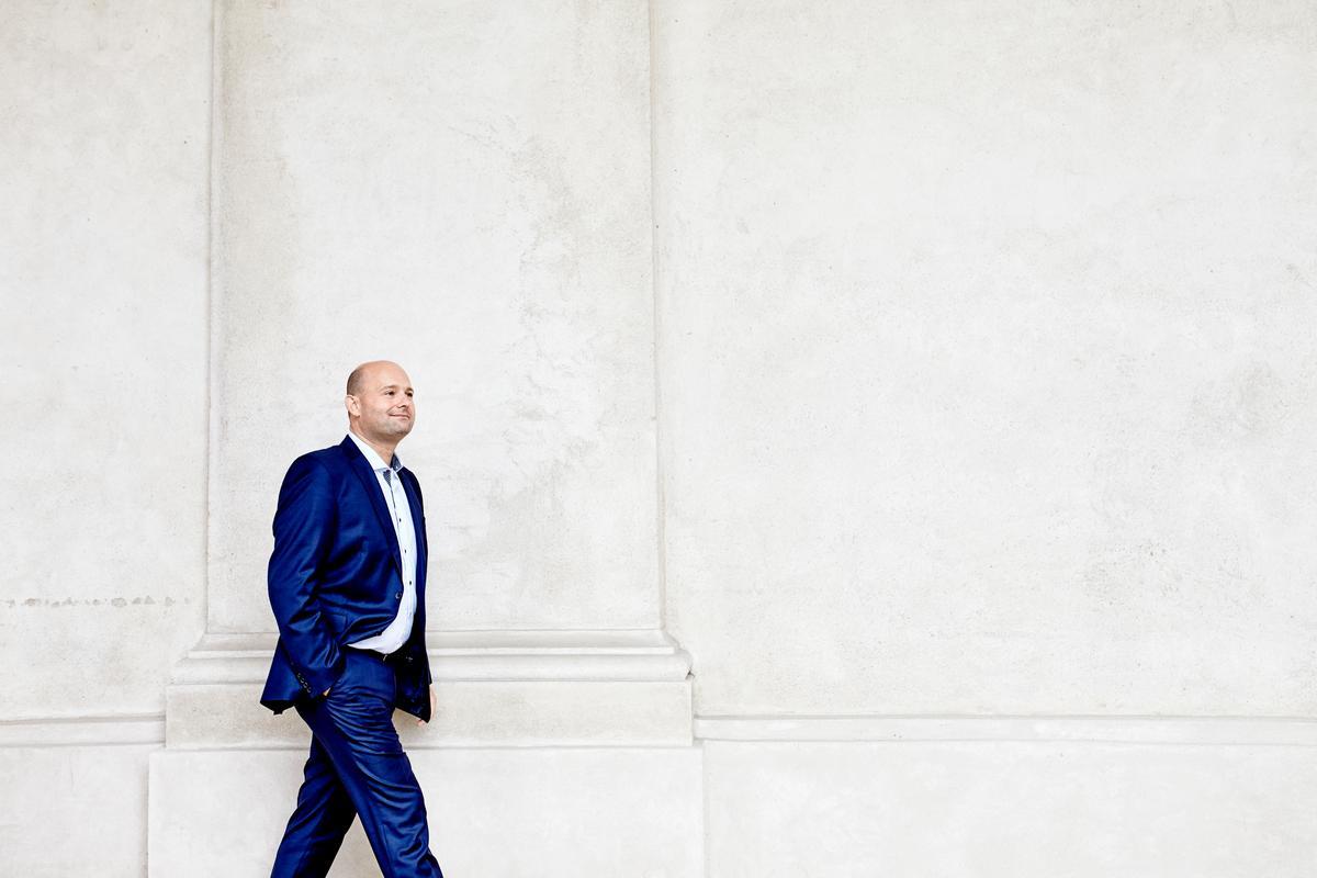 Den konservative leder Søren Pape har indkaldt til pressemøde på Christiansborg. Foto: Andreas Houmann.