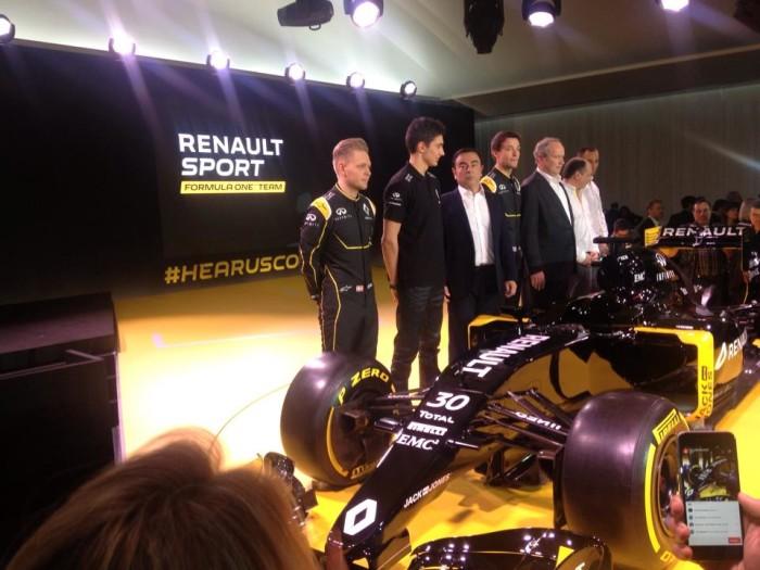 Kevin Magnussen blev onsdag præsenteret som kører på Reneaults Formel 1 team. PRfoto,
