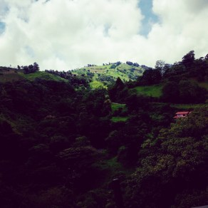 On the road to Monteverde