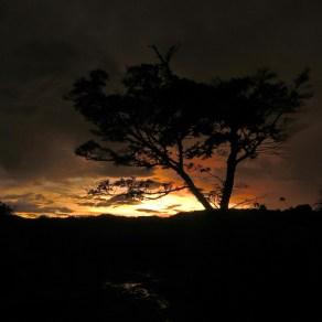 Sunset in Santa Elena