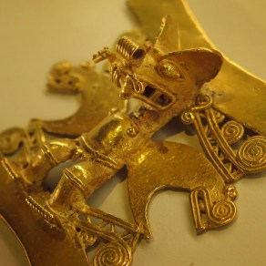Artifacts from the Pre-Columbian Gold Museum in San Jose