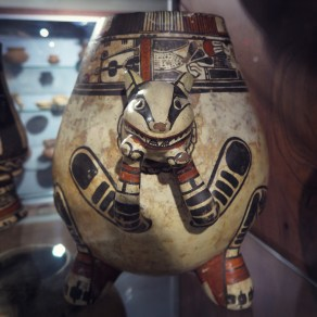 Pre-Columbian ceramics at the Jade Museum in San Jose