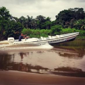 Captain Speedboat on the Tortuguero Canals