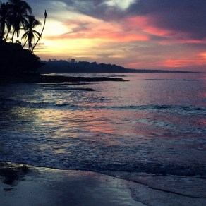 Cahuita sunset