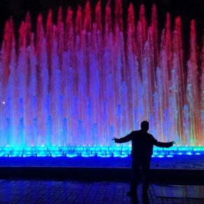 Magic Water gardens in Lima