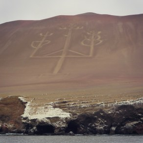 Candelabra Geoglyph in Paracas