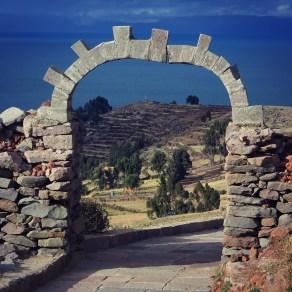Amantani Island on Lake Titicaca