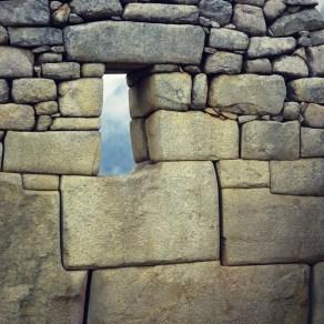 Inca stonework at Machu Picchu