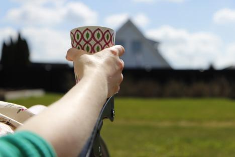 kaffe-i-trädgården