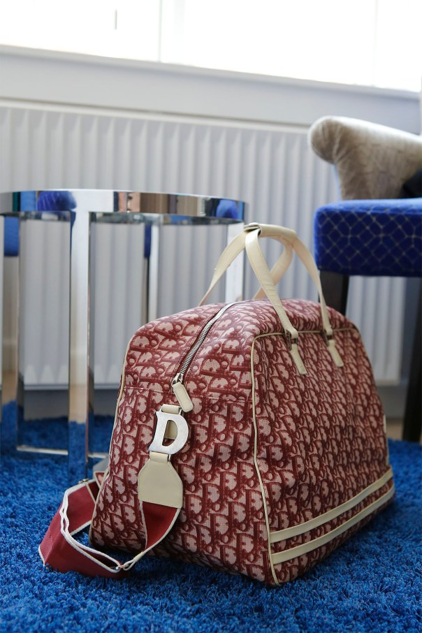 dior trotter weekend bag