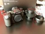 Lumix G9 mit dem Lumix 12-60 Kit