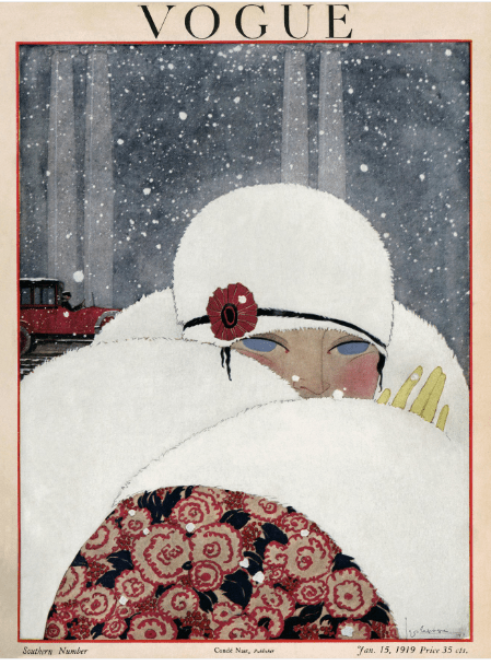 Vogue cover Georges Lepape