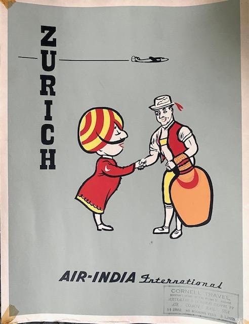 Air-India-Zurich