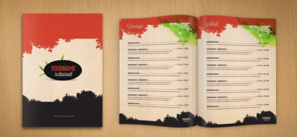 Restaurant Menu Psd Template Psd File For Free Download Now
