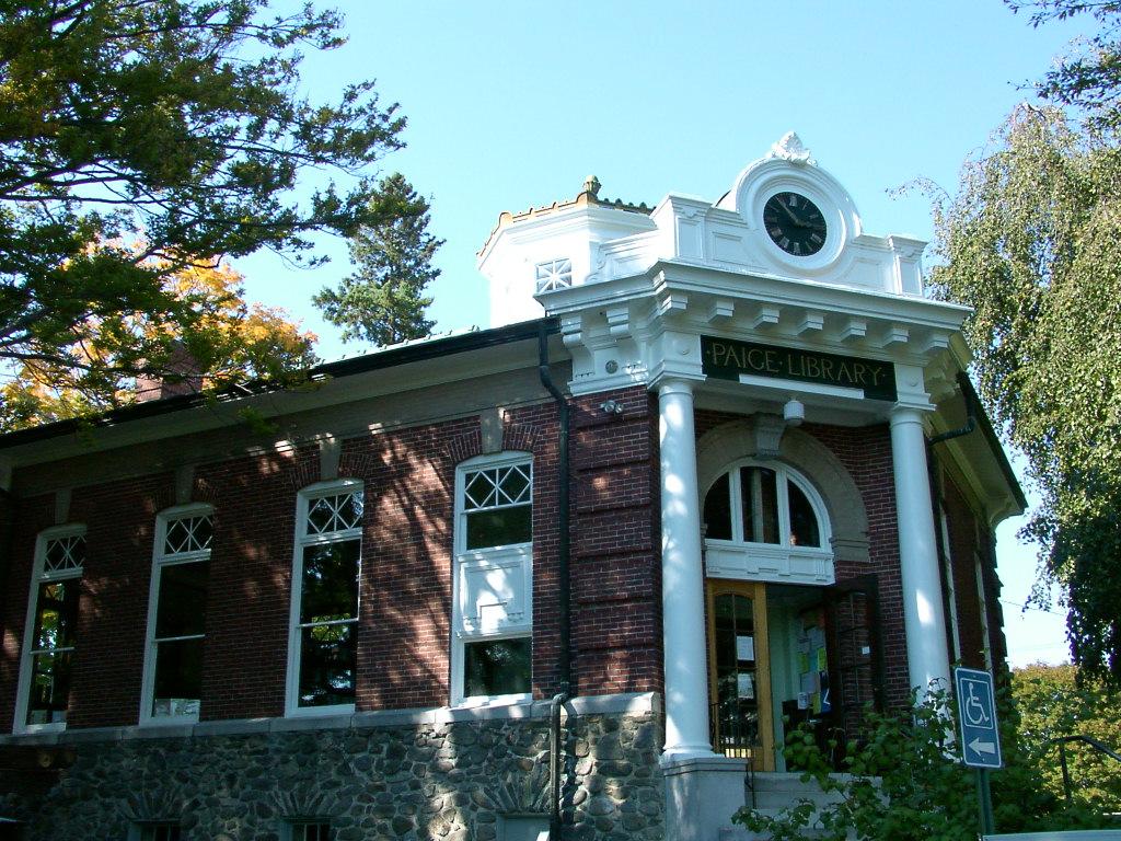 Paige Library, Hardwick MA